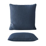 Mingle cushion, blue