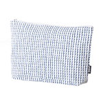 Rivi pouch, large, white-blue