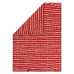 Räsymatto duvet cover, red-white