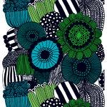 Siirtolapuutarha fabric, green