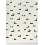 Ferm Living Rabbit wallpaper, off-white