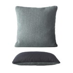 Mingle cushion, petroleum