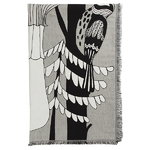 Veljekset blanket, black-white