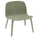 Visu lounge chair, dusty green