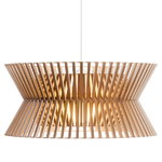 Secto Design Kontro 6000 pendant, walnut