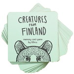 Creatures from Finland memory game