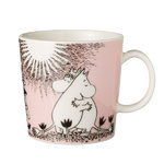 Moomin mug, Love, pink