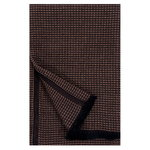Laine hand towel, black - brown