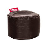 Pouf rotondo Point, marrone