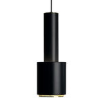 Aalto ceiling lamp A110, black