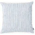 Rivi cushion cover, 50 x 50 cm, white-blue