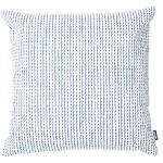 Fodera per cuscino Rivi 50 x 50 cm, bianco-blu