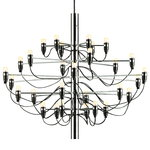 2097/30 chandelier, chrome