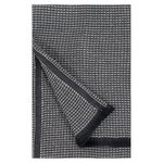 Laine hand towel, small, black - linen