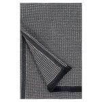 Laine hand towel, black - linen
