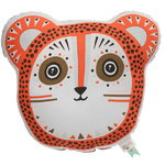 Billy Bear cushion, orange