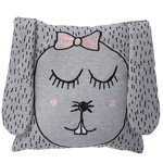 Little Ms. Rabbit cushion