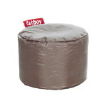 Point pouf, taupe
