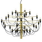 2097/30 chandelier, brass