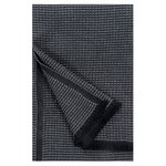 Laine hand towel, black - graphite