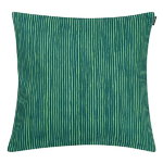 Varvunraita cushion cover, green