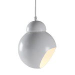 Aalto Bilberry pendant light A338, white
