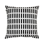 Siena cushion cover 40x40 cm, black-white