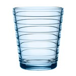 Bicchiere Aino Aalto 22 cl, 2 pz, blu acqua
