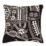 N�si� cushion cover 40 x 40 cm, black - white