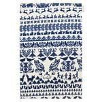 Saana ja Olli Y� mets�ss� keitti�pyyhe, valkoinen-sininen
