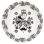 Iittala Taika serving bowl 1,45 L, deco black