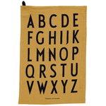 Design Letters Classic keittiöpyyhe, 2 kpl, hunajankeltainen