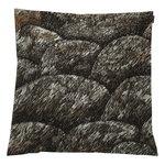 Kokadera tyynynpäällinen, 50 x 50 cm, musta - ruskea - t.vih