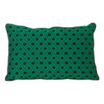 Ferm Living Salon cushion, 40 x 25 cm, Mosaic, green