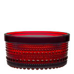 Kastehelmi jar 116 x 57 mm, cranberry