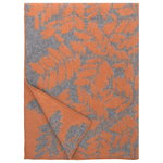 Verso blanket, rust - grey