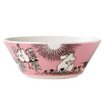Moomin bowl Love, pink