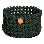 Cane-line Soft Rope kori, keskikokoinen, tummanvihreä