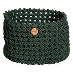 Cane-line Soft Rope basket, large, dark green