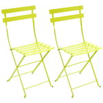 Bistro Metal chair, 2 pcs, verbena green
