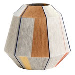 Bonbon lampshade, large, earth tones