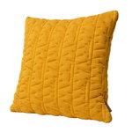 AJ Tassel tyyny, 45 x 45 cm, okra
