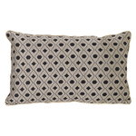 Ferm Living Salon cushion, 40 x 25 cm, Mosaic, sand