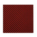 Okko tea towel, red-plum