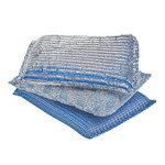 Glitter sponge, 3 pcs, blue