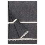 Tanhu blanket, black - white