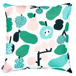 Kauniste Tutti Frutti cushion cover, light green