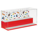 Lego Play & Display case, bright red