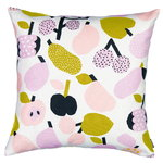 Kauniste Tutti Frutti cushion cover, olive green