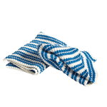 Kitchen cloth 2 pcs, blue-white